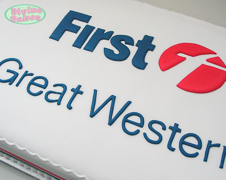 first great western corporate cake