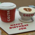 costa coffee birthday cake