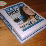 Digital photographer magazine cake